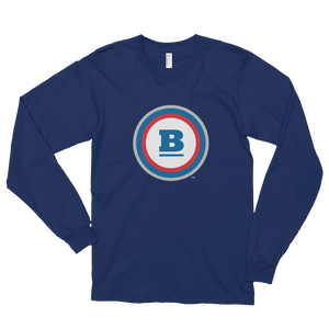 Circle B Long Sleeve T-shirt - Navy