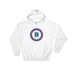 Circle B Hooded Sweatshirt - White