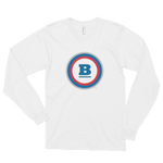 Circle B Long Sleeve T-shirt - White