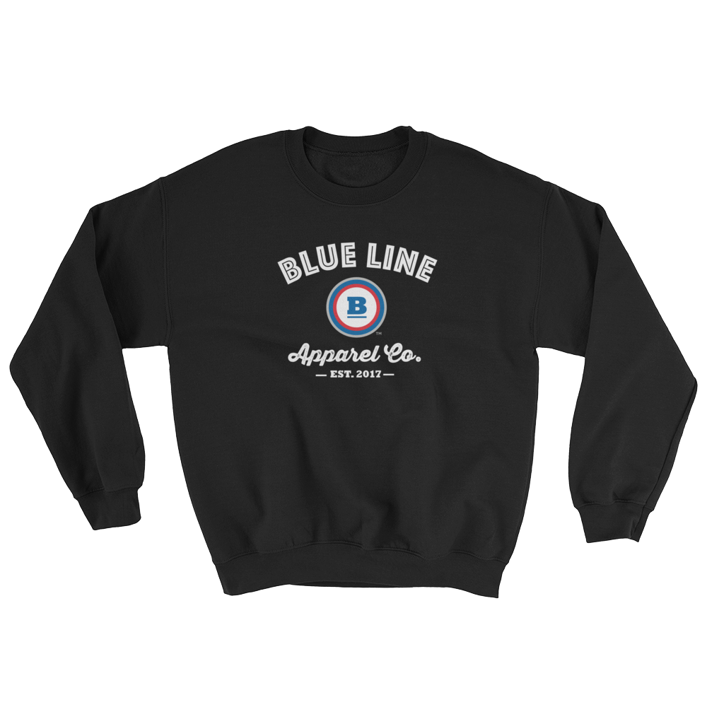 Blue Line Apparel Co. Crewneck Sweatshirt - Black