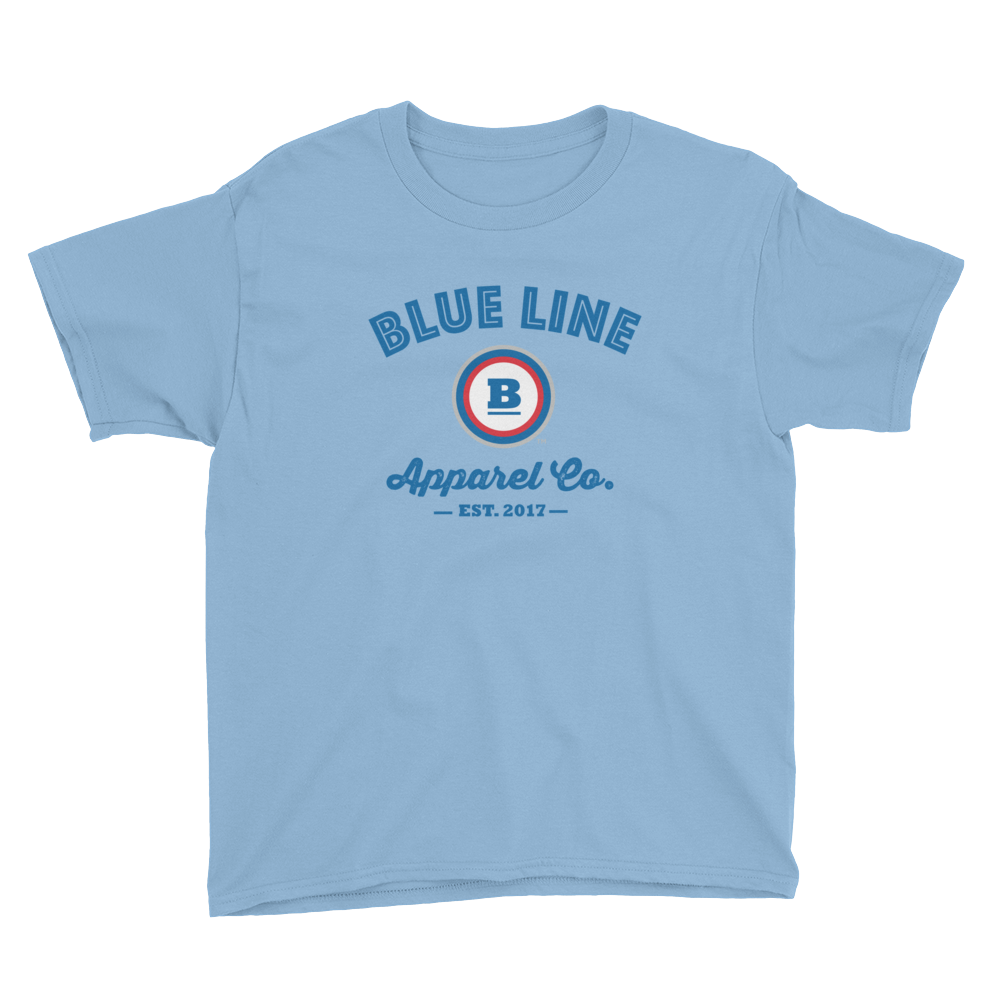 Blue Line Apparel Co. Youth T-Shirt - Light Blue