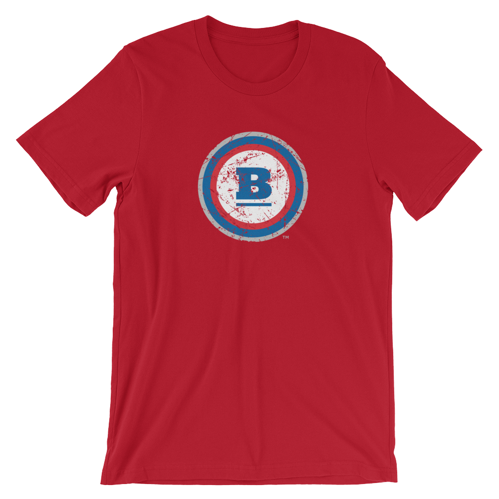 Circle B Ice T-Shirt - Red