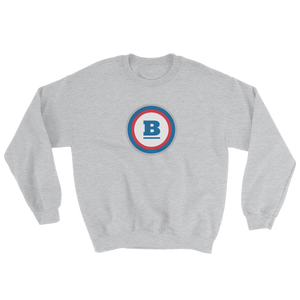 Circle B Crewneck Sweatshirt - Sport Grey