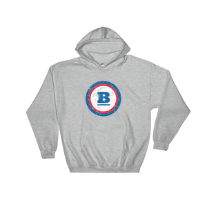 Circle B Ice Hooded Sweatshirt - Sport Grey