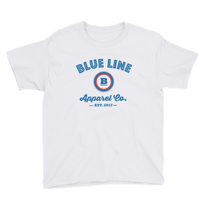 Blue Line Apparel Co. Youth T-Shirt - White