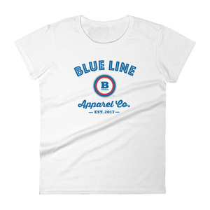Blue Line Apparel Co. Women's T-shirt - White