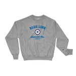 Champion® Blue Line Apparel Co. Crewneck Sweatshirt - Oxford Grey