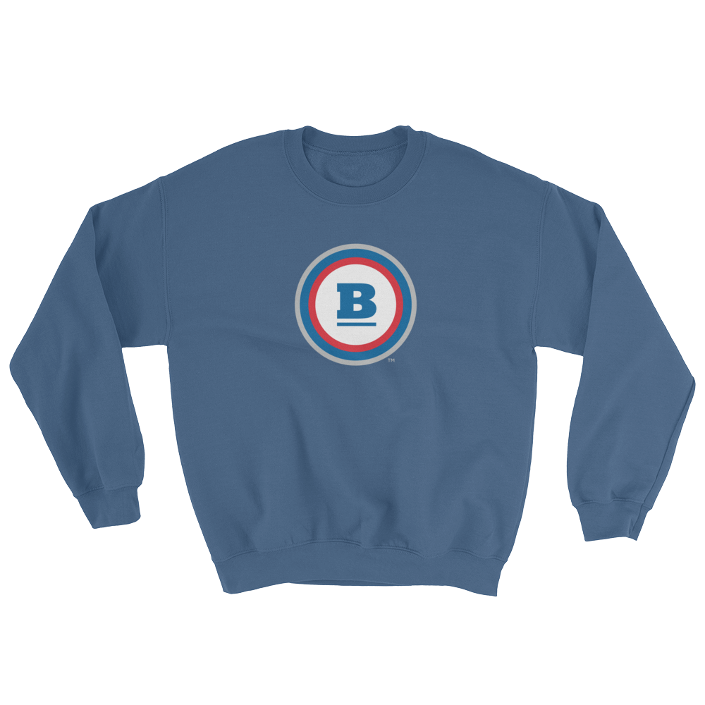 Circle B Crewneck Sweatshirt - Indigo Blue