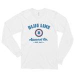 Blue Line Apparel Co. Long Sleeve T-Shirt - White