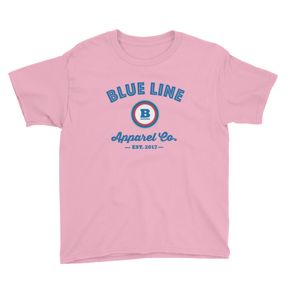 Blue Line Apparel Co. Youth T-Shirt - Pink