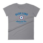 Blue Line Apparel Co. Women's T-shirt - Storm Grey