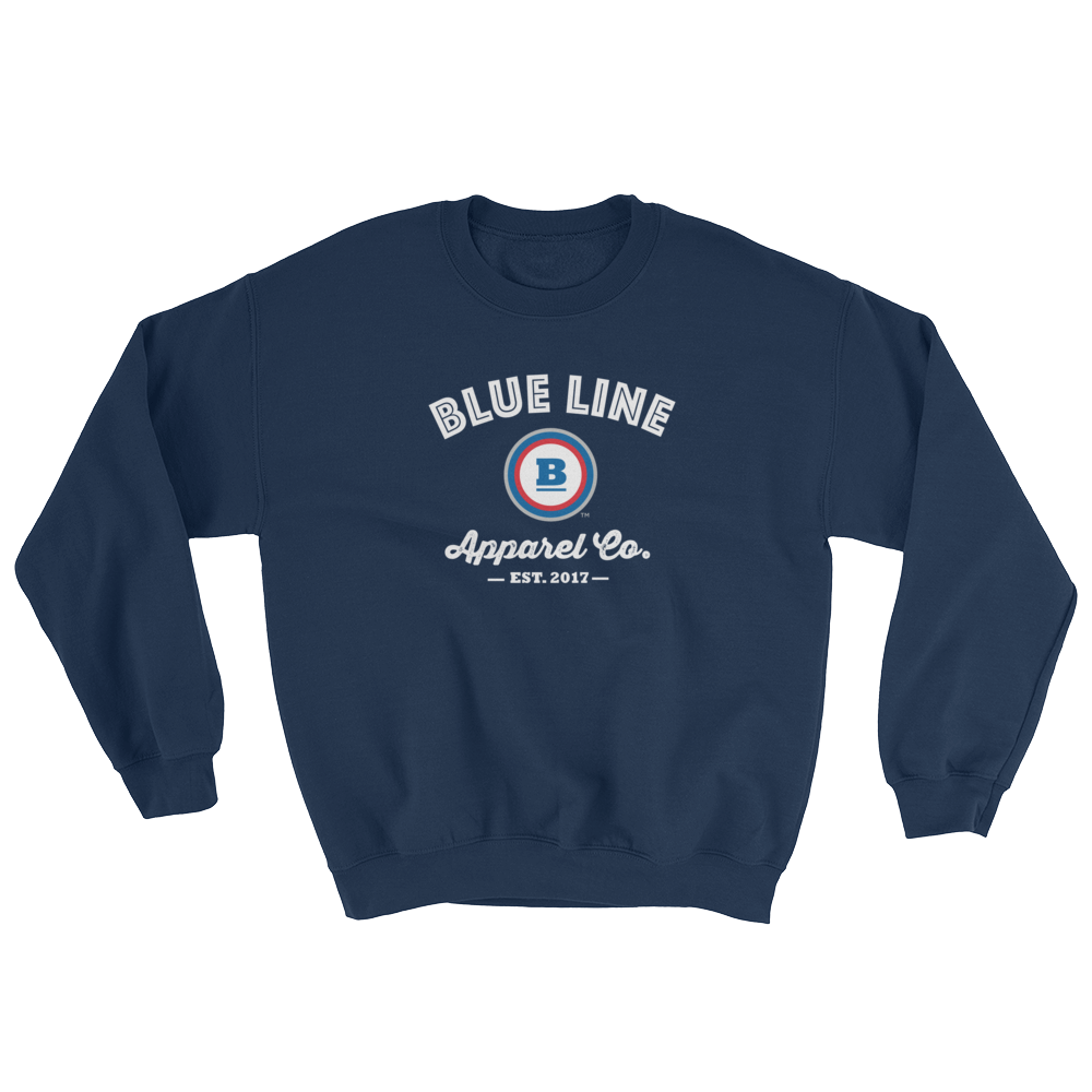 Blue Line Apparel Co. Crewneck Sweatshirt - Navy