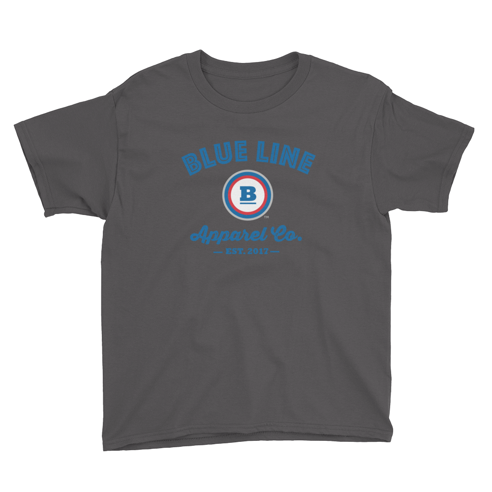 Blue Line Apparel Co. Youth T-Shirt - Charcoal