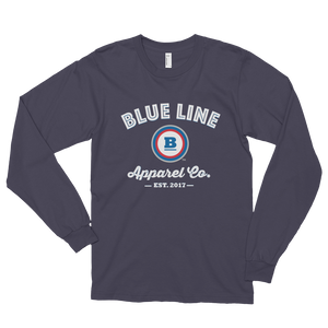 Blue Line Apparel Co. Long Sleeve T-shirt - Asphalt
