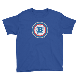 Circle B Ice Youth T-shirt - Royal Blue