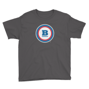 Circle B Youth T-Shirt - Charcoal