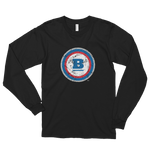 Circle B Ice Long Sleeve T-shirt - Black