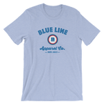 Blue Line Apparel Co. T-Shirt - Heather Blue