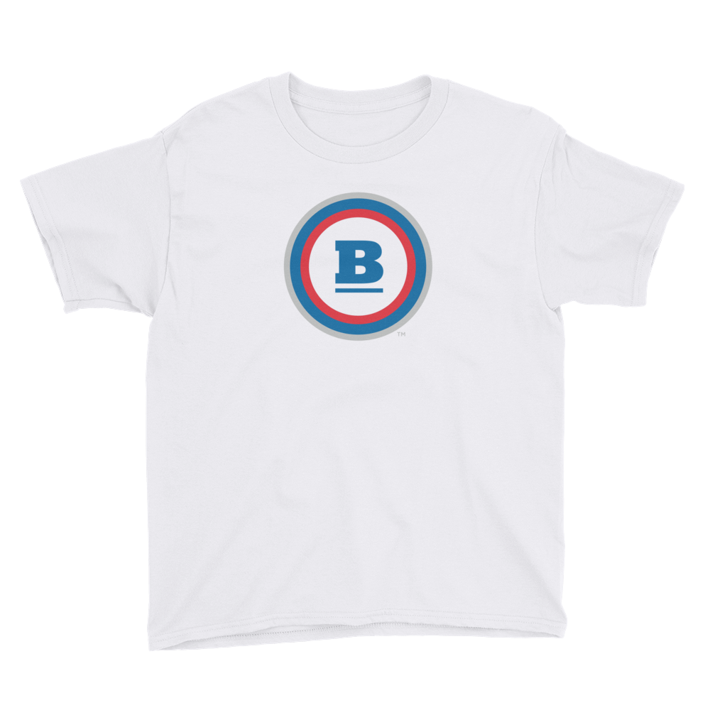 Circle B Youth T-Shirt - White
