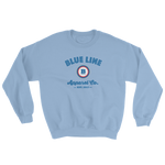 Blue Line Apparel Co. Crewneck Sweatshirt - Light Blue