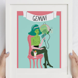 Wall Art Prints Illustrating your Zodiac Sign