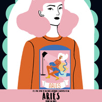 Aries in Aries Unisex Sweatshirt