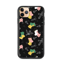 Crystals and naked alien girls Biodegradable iphone case