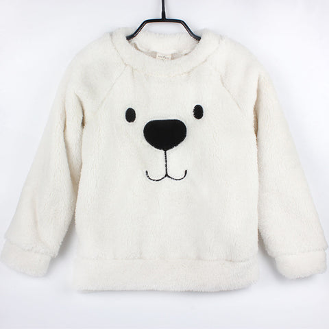 Thick Winter Bear Cartoon Sweater