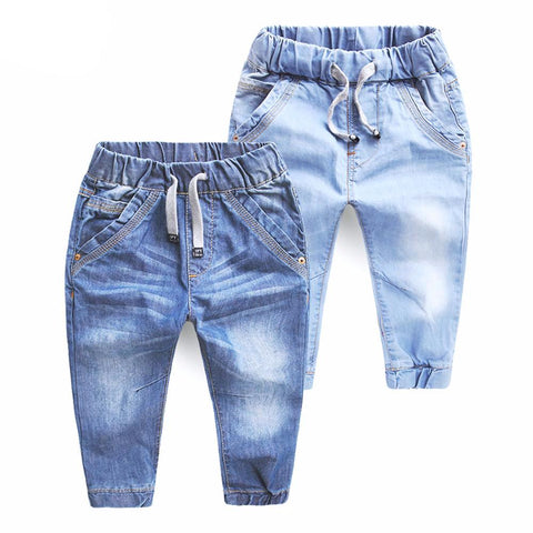 2017 Children's Clothing Blue Jeans