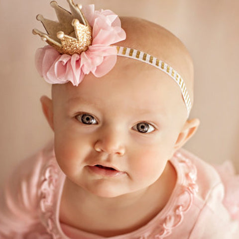Newborn Princess Crown Headband