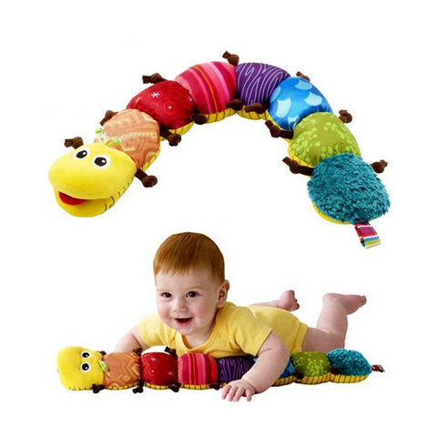 Cute Musical Stuff Caterpillar With Ring Bell