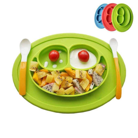 Silicone Feeding Food Plate
