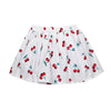 Cherry Print Girls Tutu Skirt