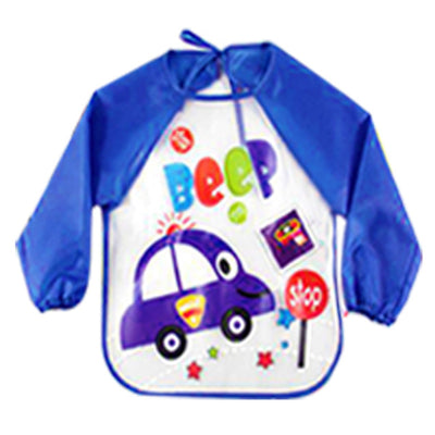 Waterproof Long Sleeve Children's Bib Apron