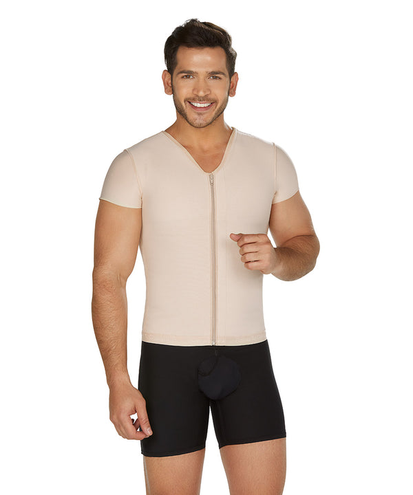 Compression Vest For Men, Posture Corrector , Center Zipper  ( Ref. H-002 )