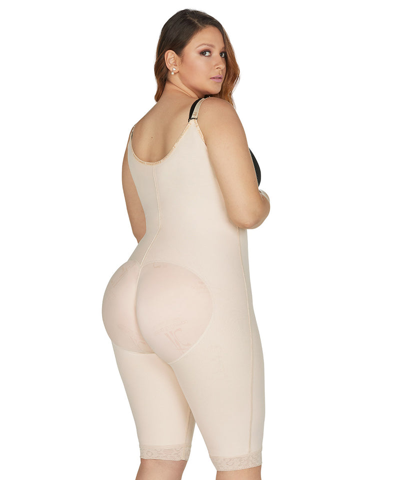 Faja Colombiana Knee Bodysuit, girdle & butt lifter for smooth curves ( Ref. O-020 )