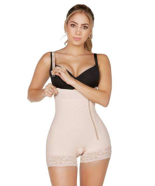 Faja Colombiana, Panty Body Shaper & Girdle, Strapless ( Ref. O-040 )