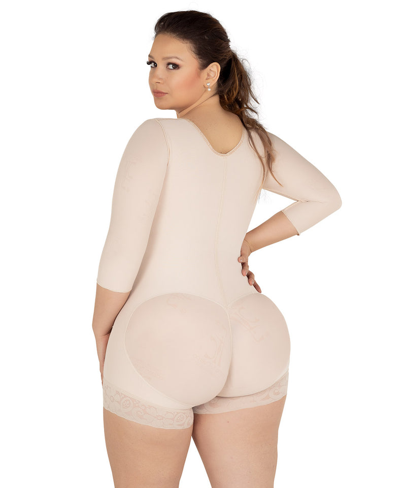 Colombian Shapewear Bra, Short Bodysuit, Abdomen Control & Butt Lifter. Waist Definition ( Ref. O-092 )