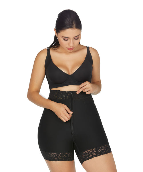 Booty Shaper Short High Waist Faja Colombiana Shapewear FTC (Ref. O-071)