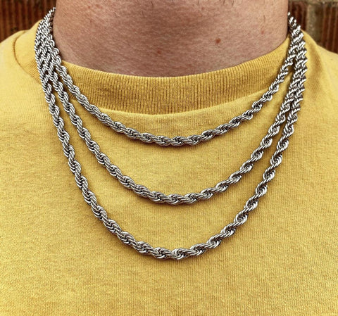 men chain necklace