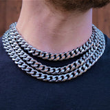 Silver Cuban Curb Chain (13MM) | Twistedpendant