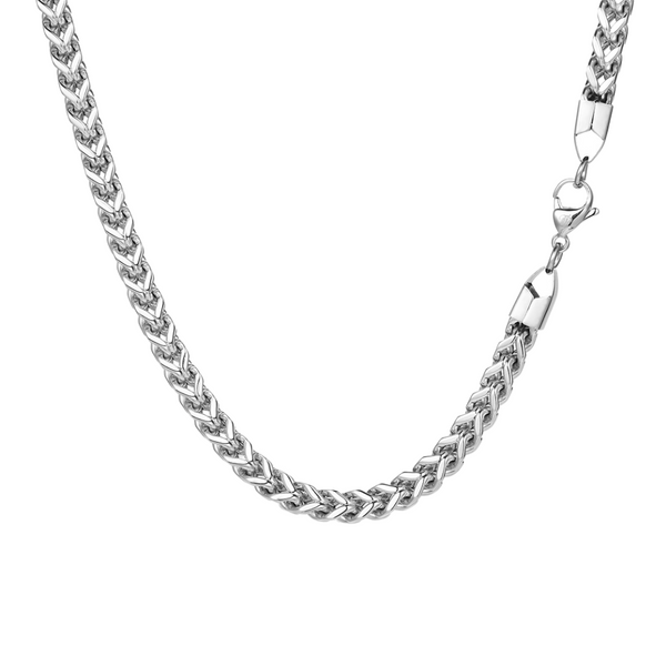 Silver Franco Chain (6MM) - Twistedpendant