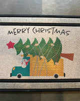 Carpet/Door Mat Holiday Theme