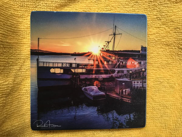 Mount Washington, coaster, tile, Lake Winnipesaukee