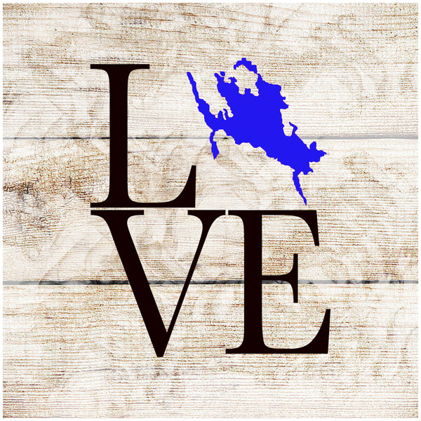 Sandstone Coaster- Love Winni Map Blue