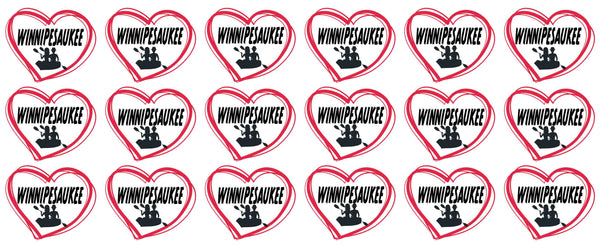 Coffee Mugs- Winnipesaukee Hearts