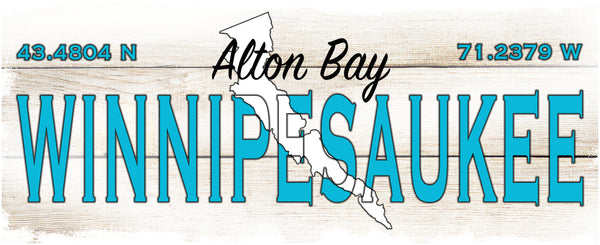 Coffee Mugs 15 oz with blue interior- Alton Bay