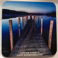 Hardboard Coaster- Center Harbor Town Docks