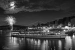 Aluminum Photo panel- Mount Washington Fireworks