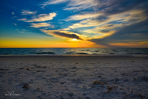 Aluminum Photo panel- Sunset  on Siesta Key